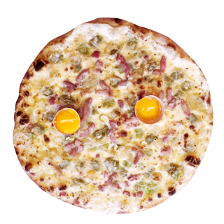 pizza Pizza carbonara