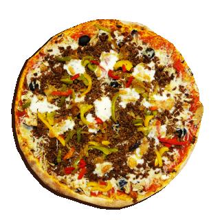 pizza Extra Pan (pâte épaisse)